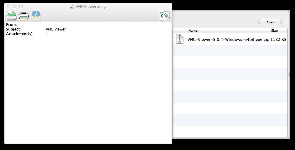 [Mac] 在 Mac 上使用 MailRaider 開啟 Outlook .msg 檔案