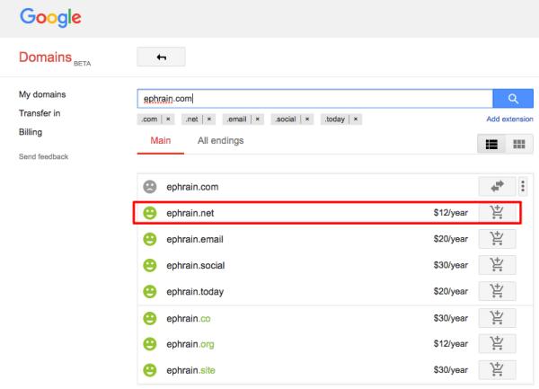 [DNS] 在 Google Domains 註冊自己的網域名稱,並指向 Google Cloud Platform 上的 WordPress 主機