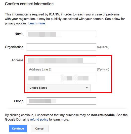 DNS] 在Google Domains 註冊自己的網域名稱,並指向Google Cloud