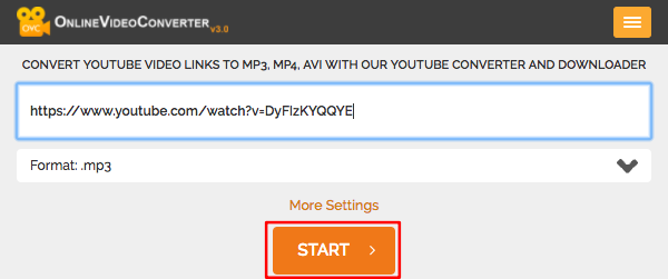 [Web] 使用 Online Video Converter 將 Youtube 影片轉成 MP3